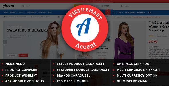 Accent - VirtueMart Theme-0
