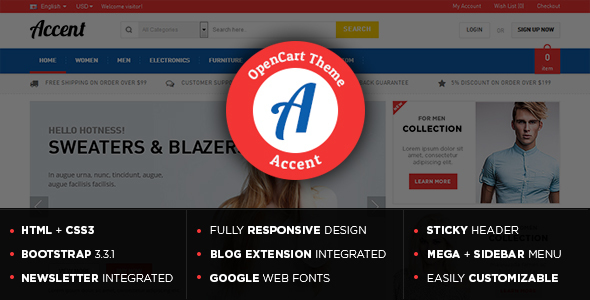 Accent - Gift Store Responsive OpenCart Theme-0