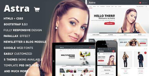 Astra - OpenCart Theme