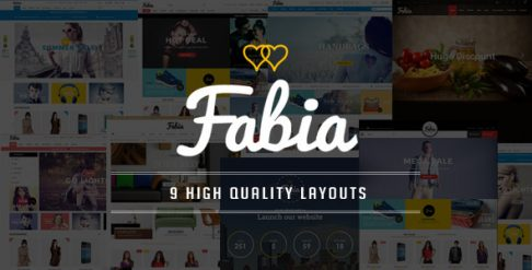 Fabia - Fashion Store WooCommerce Wordpress Theme