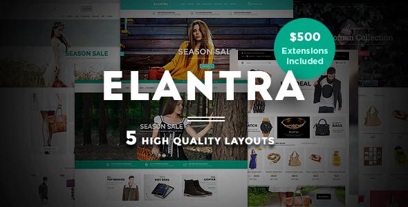 Elantra - Fashion Store Magento Theme-0