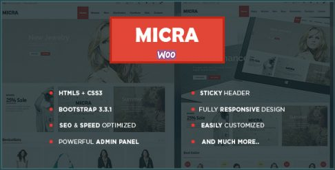 Micra - Fashion Store WooCommerce Wordpress Theme