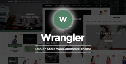 Wrangler - Fashion Store WooCommerce Wordpress Theme