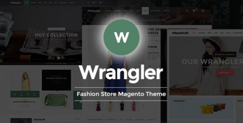 Wrangler - Fashion Store Magento Theme