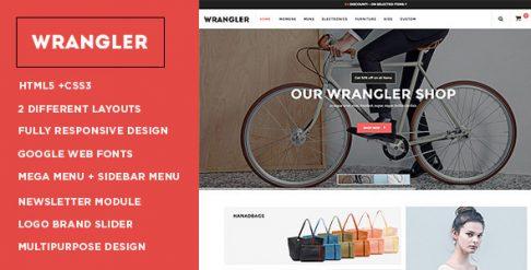 Wrangler - Fashion Store Responsive OpenCart Theme