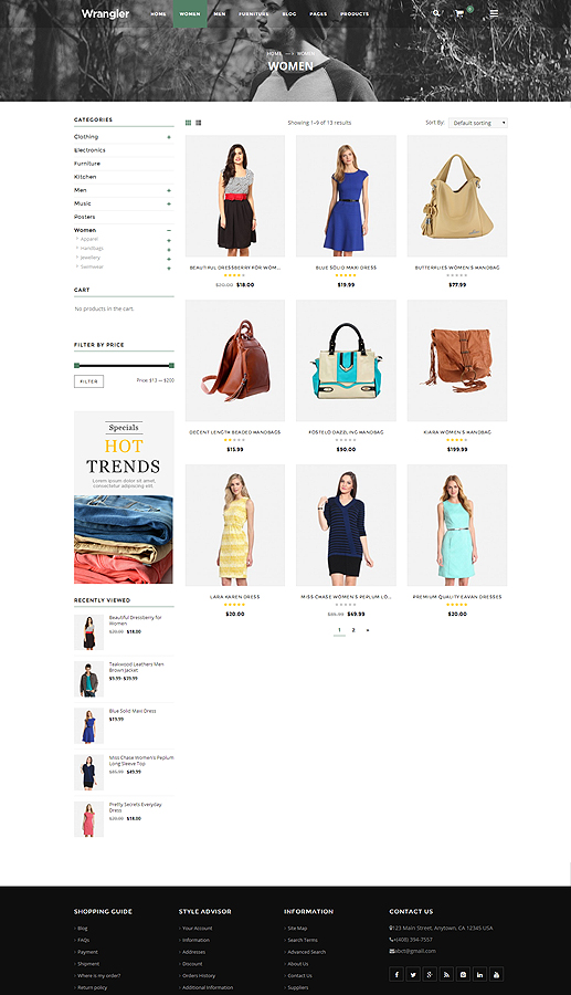 fashion shop wordpress
