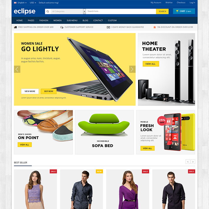Eclipse - Responsive HTML Template-0