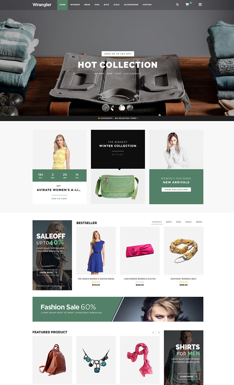 Fashion responsive theme