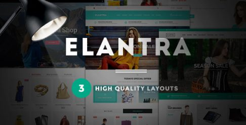 Elantra - Fashion Store WooCommerce Wordpress Theme