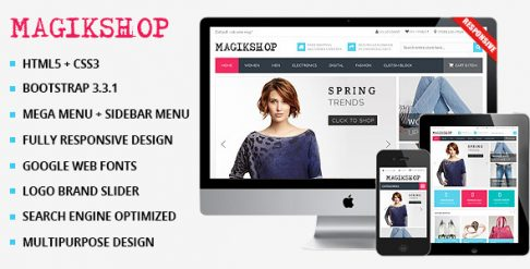 Magikshop - WooCommerce Wordpress Theme