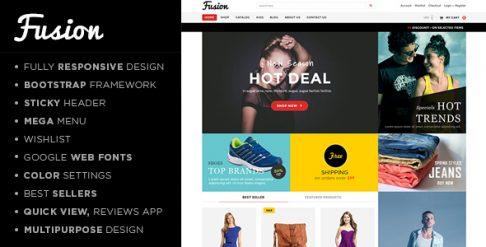 Fusion - Shopify Theme