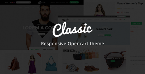 Classic - Kids & Baby Store OpenCart Theme
