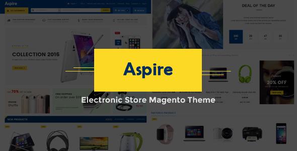 Aspire - Electronic Store Magento Theme-0