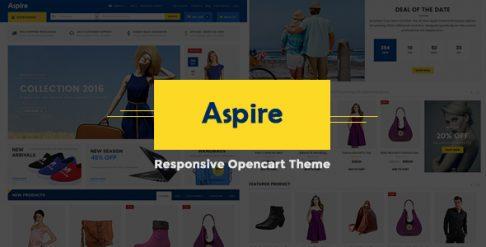 Aspire - Premium OpenCart Theme