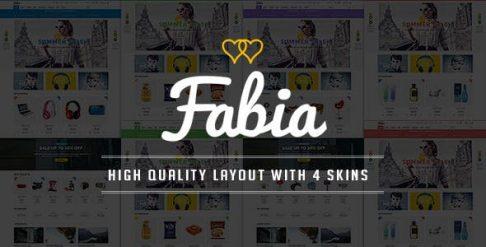 Fabia - Responsive HTML Template