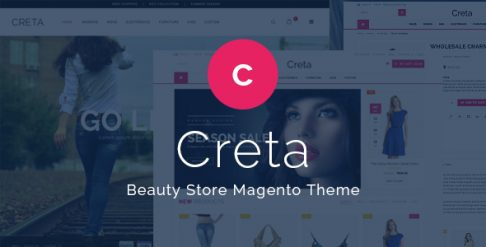Creta - Beauty Store Magento Theme