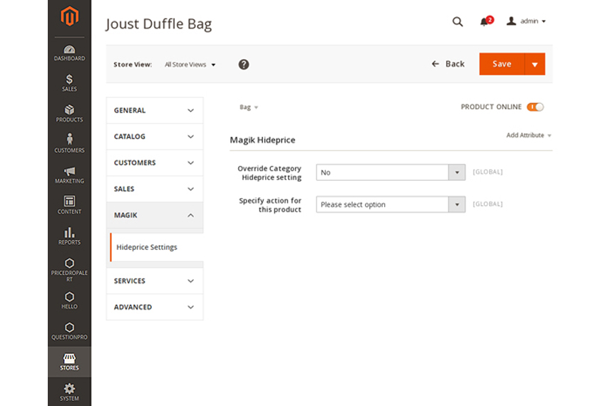 Hide Price - Call for Price Magento2 Extension