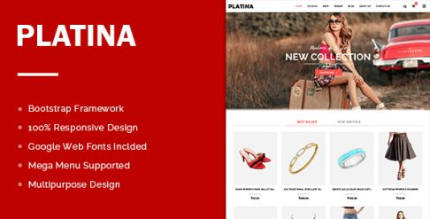 Platina - Best Free Shopify Theme