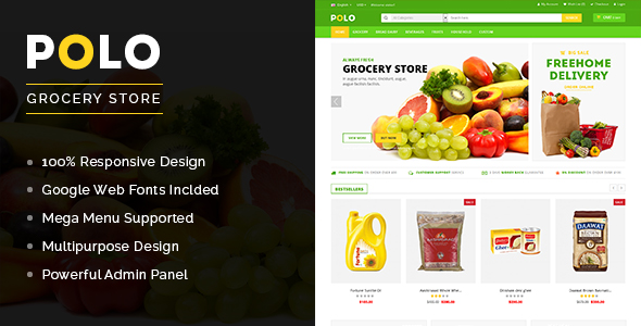 Polo - Grocery Store OpenCart Theme-0