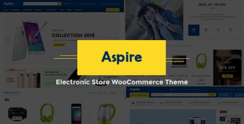Aspire Electronic Store WooCommerce Wordpress Theme