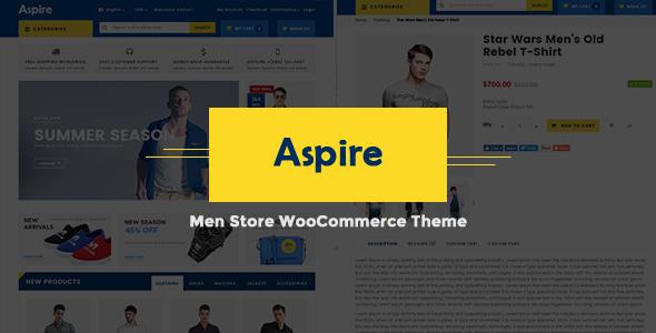 Aspire - Mens Store WooCommerce Theme-0