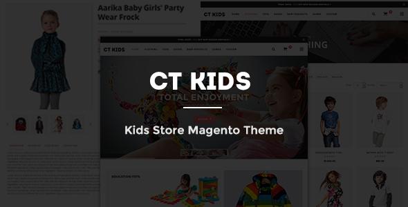 CT Kids Store Magento Theme - Premium & Multipurpose Store Design-0