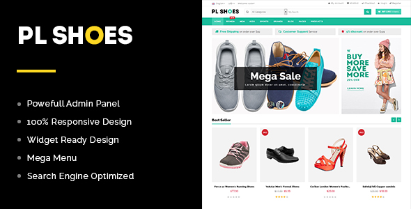 PL Shoes Store WooCommerce Theme -0