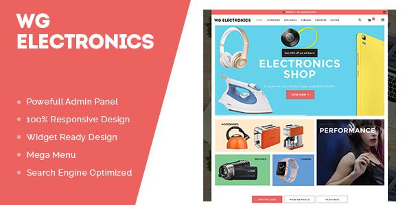 WG Electronics Store WooCommerce Theme -0