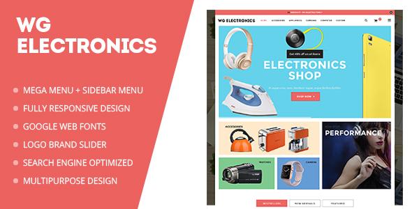 WG Electronics Magento Theme - Premium & Multipurpose Store Design-0