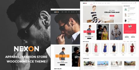 Nexon - Apparel Store WooCommerce WordPress Theme