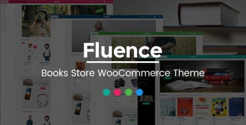 Fluence - Book Store WooCommerce Wordpress Theme
