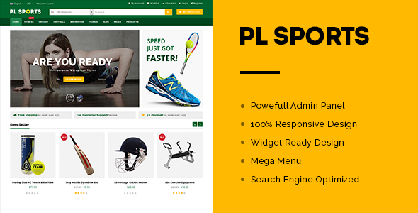 PL Sports Store WooCommerce Theme -0