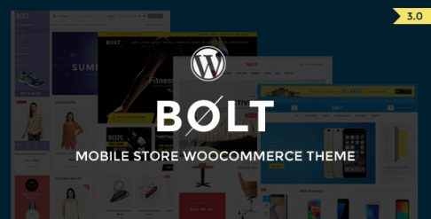 Bolt - Mobile Store  WooCommerce Wordpress Theme