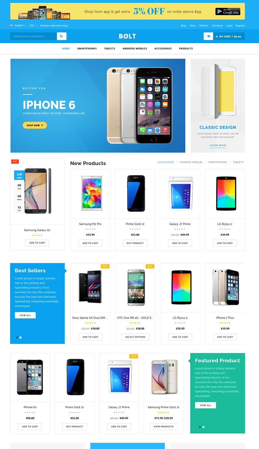 mobile responsive theme