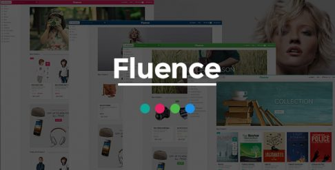 Fluence - Books Store OpenCart Theme