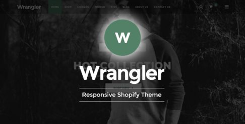 Wrangler - Fashion Store Shopify Theme & Template