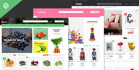 Brezza - Fruit Store Magento Theme