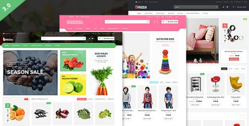 Brezza - Fruit Store WooCommerce Wordpress Theme
