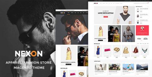 Nexon - Apparel Store Magento Theme
