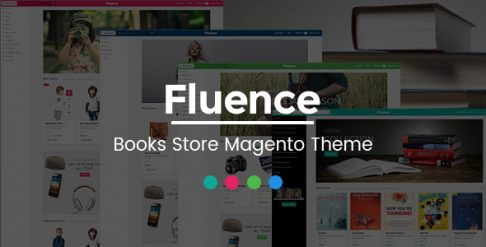 Fluence - Book Store Magento Theme