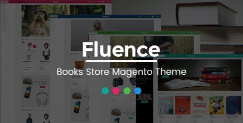 Fluence - Book Store Magento Theme