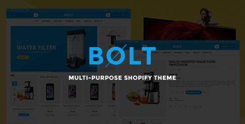 Bolt - Mobile Store Shopify Theme & Template