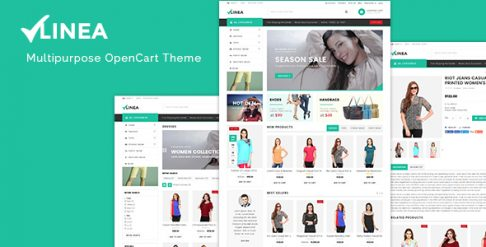 Linea - Clothing Store Responsive OpenCart Theme