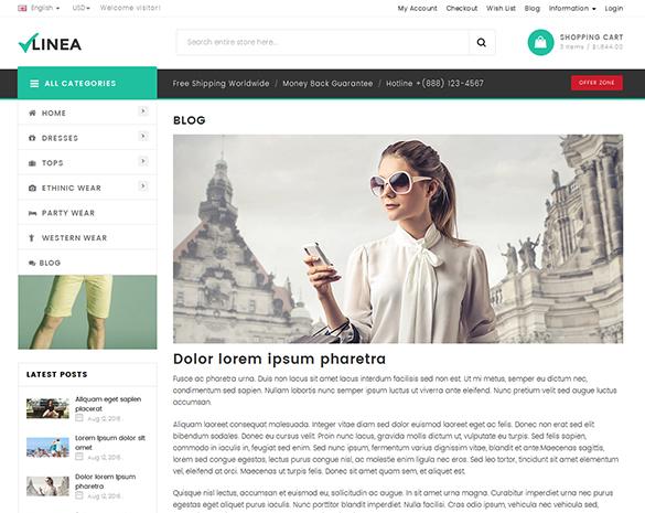 Blog detail Page