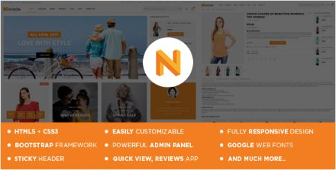 Nexon - Apparel Store Shopify Theme & Template