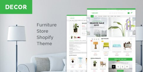 Decor - Furniture Store Shopify Theme