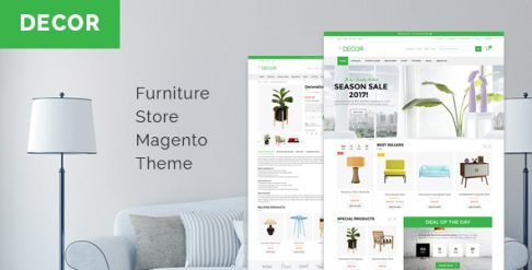 Decor - Furniture Store Magento Theme