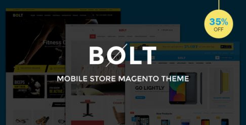Bolt - Mobile Store Magento Theme