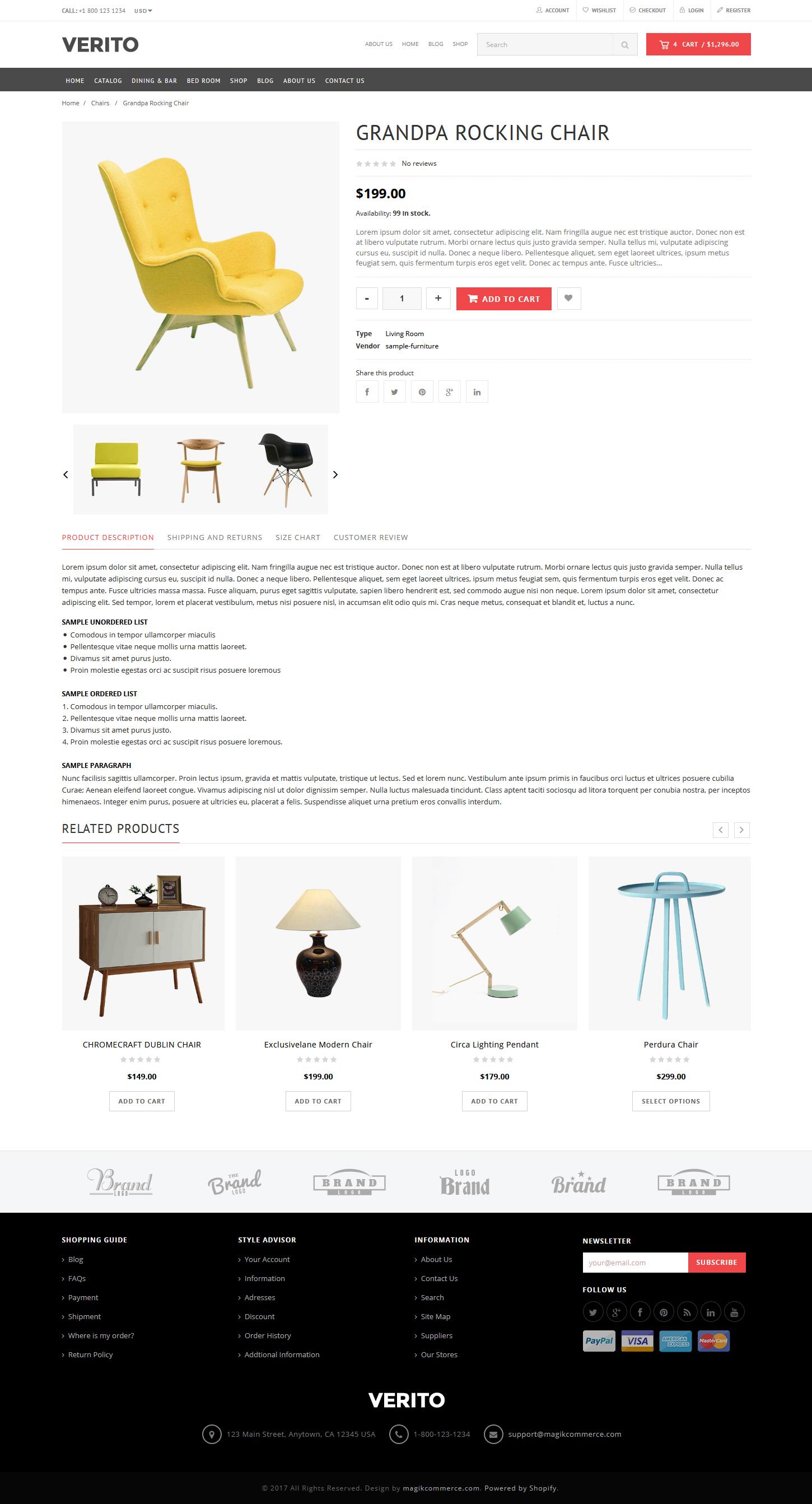 Verito Multipurpose Shopify Template