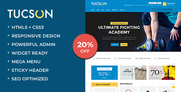Tucson - Sports Store WooCommerce WordPress Theme-0